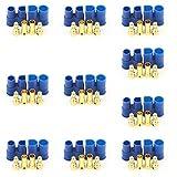Ladicha 10 X Ec3 Mâle Femelle Connecteur De La Tête Banane Bouchon Pour Batterie Rc Lipo