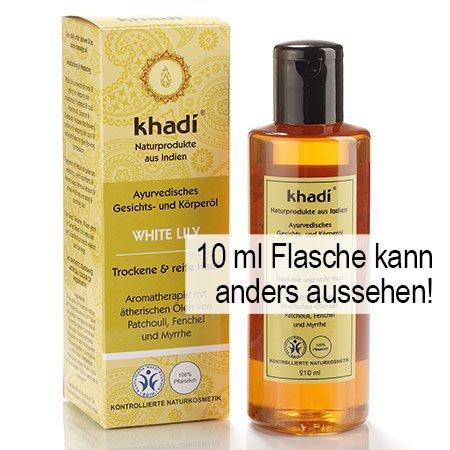 Khadi: Gesichts- und Körperöl White Lily: Khadi: Groesse: White Lily Öl 10 ml (10 ml)