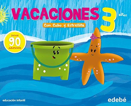 Vacaciones Con Cubo y Estrellita, Educación Infantil, 3 años - 9788468302294