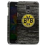 DeinDesign Samsung Galaxy S5 mini Hülle Premium Case Cover Borussia Dortmund BVB Holzoptik
