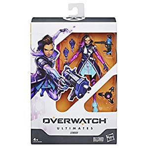 Overwatch- Ultimates Sombra, Multicolor (Hasbro E6487ES0)