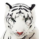 VRV Soft Toy White Tiger 40cm