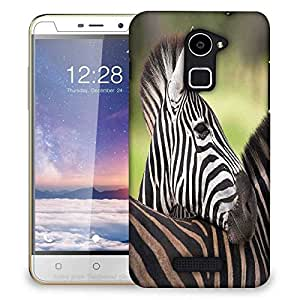 Snoogg Baby Zebra Designer Protective Phone Back Case Cover For Coolpad Note 3 Lite
