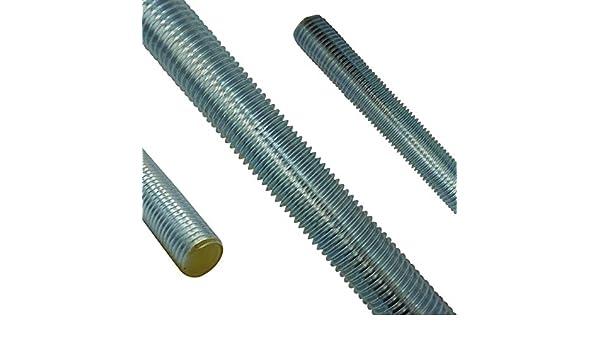 SC976 SC-Normteile M12 x 1000 mm - 5 St/ück galvanisch verzinkt G/üte 8.8 - DIN 976 // DIN 975 Gewindestange