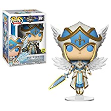 Funko- Pop Vinyl: Games: Summoners War: Valkyrie Idea Regalo, Statue, COLLEZIONABILI, Comics, Manga, Serie TV, Multicolore, 34881