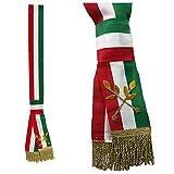 Mr Gadgets Fascia Lusso Tricolore Da Sindaco A Nodo Scorrevole Per Adulti Made In Italy