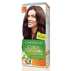 Garnier Color Naturals Light Brown Shade  Review