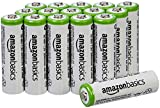 AmazonBasics AA Pre-charged Rechargeable Batteries 2000 mAh [Pack of...