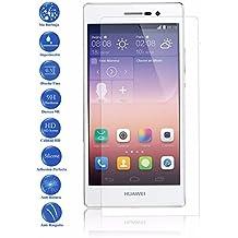 Protector de Pantalla Cristal Templado Vidrio 9H Premium para Huawei Ascend P7 - Todotumovil