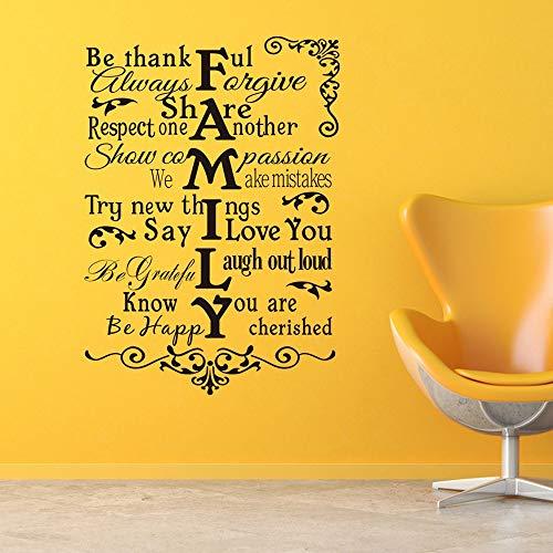 wandaufkleber 3d Wandtattoo Kinderzimmer Personalisierte kreative Alphabet Phrase Art Home Decoration Wohnzimmer Schlafzimmer Decals für Wohnzimmer - Tiny Alphabet Sticker