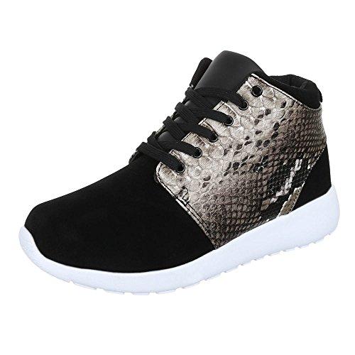Chaussures pour Homme, 508–6, Baskets Sneakers Chaussures de sport Noir - Noir