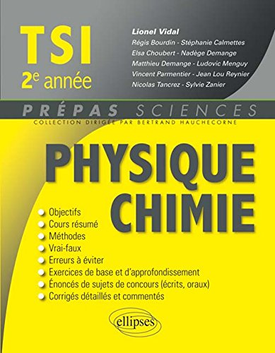 Physique Chimie TSI 2e Anne