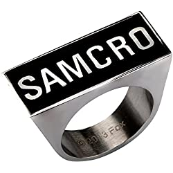 Sons Of Anarchy SAMCRO Logo Ring | 6