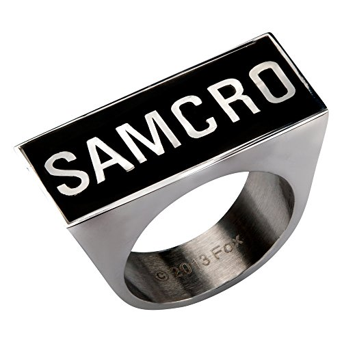 Sons Of Anarchy SAMCRO Logo Ring | 8