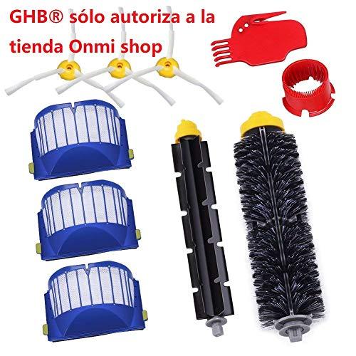 GHB Pack Kit Cepillos Repuestos de Accesorios para...