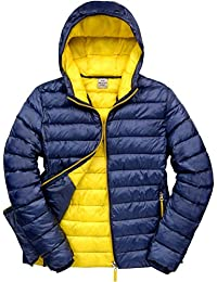 Resultado r194 m Urban Snow Bird Chaqueta con Capucha, Unisex, Color Navy/Yellow