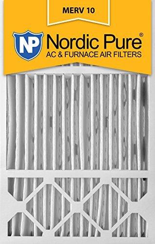 Nordic Pure 16x 25x 5, Merv 10, Honeywell Ersatz-Luftfilter, 2Stück von Nordic Pure (10 Filter Honeywell Merv)