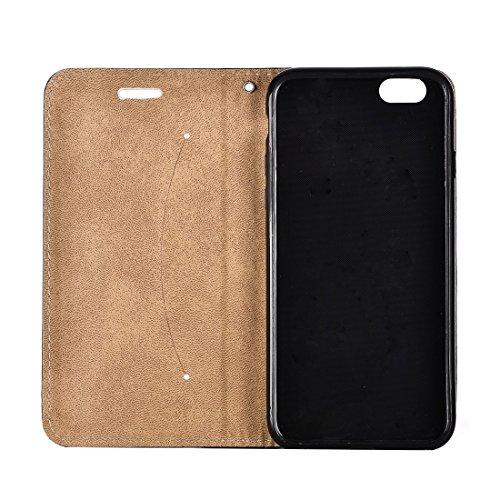 iPhone Case Cover Pour iPhone 7 3D Relief Feather Pattern Flap Horizontal Housse en Cuir avec Titulaire & Card Slots & Lanyard ( SKU : Ip7g0621d ) Ip7g0621e