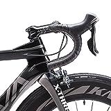 Carbon Rennrad,SAVADECK Phantom3.0 700C Rennrad Kohlefaser Rennräder Fahrrad Shimano Ultegra 8000 22 Speed Group Set mit Michelin 700C*25C Reifen und Fizik Sattel (56cm, Grau) - 4