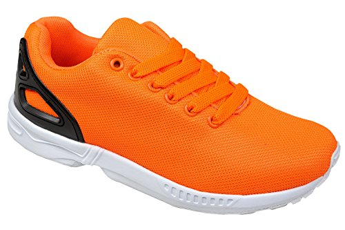 Gibra ® baskets, très léger et confortable, orange fluo-taille 36 Orange - Orange