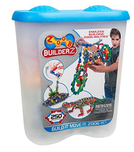 Zoob 0Z11250 BuilderZ Set da Costruzione da 250 Pezzi