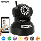 Best Webcams - KKMOON Wireless IP camera WebCam /Tilt 2-ways Audio Review