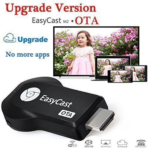 Seguro Upgrade Version EZCast M2 OTA Smart TV Stick WIFI Display Dongle HDMI Streaming Media Player Miracast DLNA Airpaly Output 1080p Full TV Video Windows iOS Andriod Mini Pc Player Display Adapter Support Dlna Ipush TV stick Tv Receiver Box Dongle Google Chromecast  available at amazon for Rs.6670
