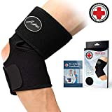 #8: Doctor Developed Elbow Brace & Elbow Support AND DOCTOR WRITTEN HANDBOOK —GUARANTEED RELIEF & SUPPORT for Elbow Injuries and Other Elbow Conditions