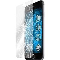 2 x Glas-Folie klar für Apple iPhone 6s / 6 PhoneNatic Panzerglas für iPhone 6s / 6