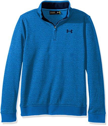 Under Armour Jungen Storm 1.0Quarter Zip Fleece Pullover, Jungen, blau - Quarter-zip Fleece Pullover
