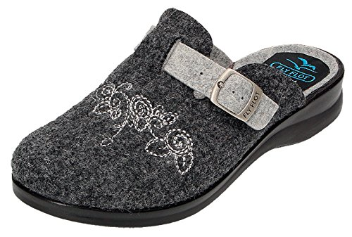 863244 T6yrf Anthracite Fly For Femme Chausson Grau Gris Flot RzaUwU