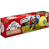 POOF-Slinky - My 1st Sports Soccer Set with 5.50-Inch Foam Soccer Ball and PVC Framed Goal Net, 781BL by Poof (English Manual)