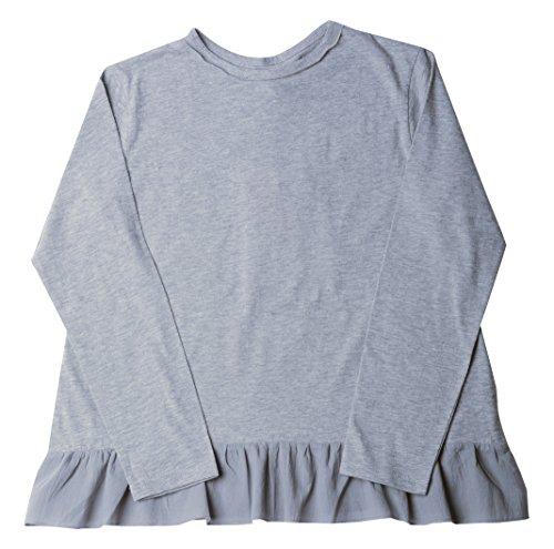 VITIVIC Grecia Gris T-Shirt, 14 Ans Bébé Fille
