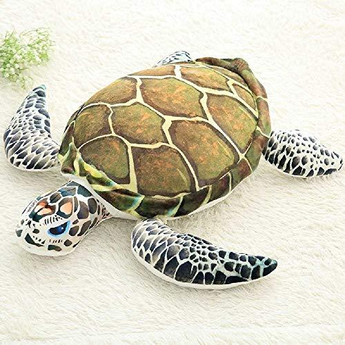 kh 3D - Simulation der Welt - Ozean - ausgestopftes Tier - Kissen, Kissen, Spielzeug, Kreative Geschenke zum Geburtstag 55cm/Schildkröten