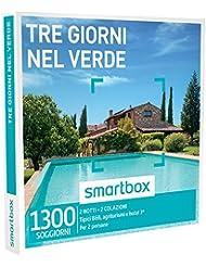 smartbox - Cofanetto Regalo - Tre Giorni nel Verde - 1300 soggiorni in Case tipiche, agriturismi e Hotel 3*
