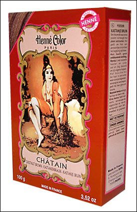 Henné Color Chestnut Brown (kastanienbraun) Henna-Pulver