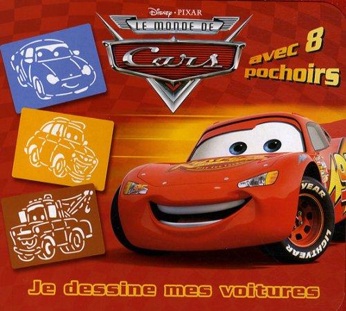 Le monde de Cars : Je dessine mes voitures