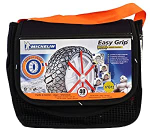 michelin 7906 easy grip snow chains g12 car motorbike. Black Bedroom Furniture Sets. Home Design Ideas