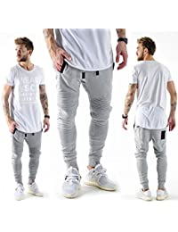 VSCT Clubwear Herren Hosen / Jogginghose Bomber grau L