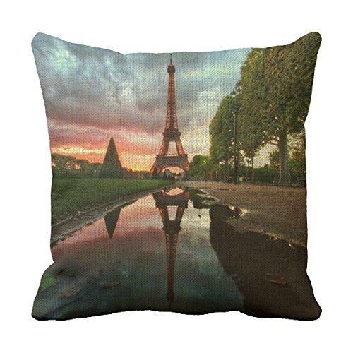Lettert Eiffel divano lino cuscini Eiffel Tower Custom Personalized sofa decorative Covers - Eiffel Lino