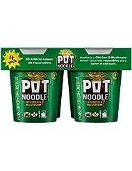 Pot Noodle Chicken&Mushroom (Pack of 4), 360g