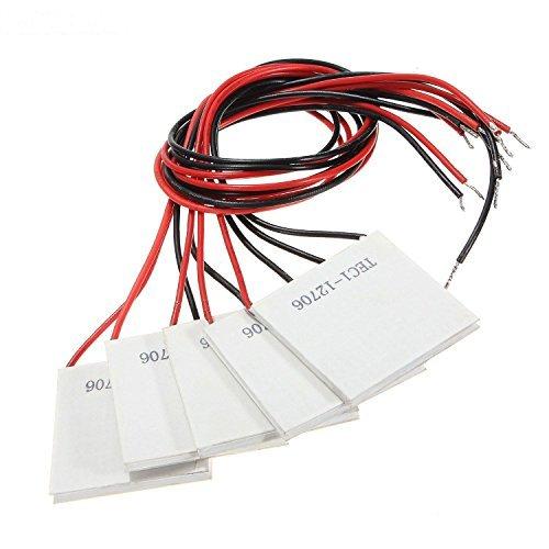 KIMILAR Peltierelement Peltier Element TEC für Kühlen Heizen TEC1-12706 Thermoelectric, 12V 60W,5 Stück
