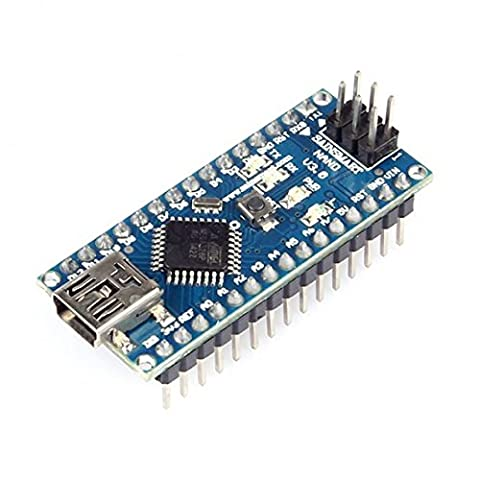SainSmart Nano Board, Replacement For Arduino Nano V3.0 AVR ATmega328 P-20AU board avec USB câble