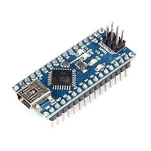 SainSmart Kompatibel Entwicklungsbrett Für Arduino Nano V3 USB-Kabel und Dupont-Kabel enthaltend