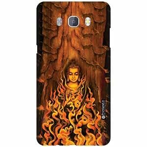 Printland Designer Back Cover for Samsung Galaxy On8 - Budhha Case Cover