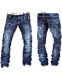Kosmo Lupo - Jeans - Homme bleu bleu -  bleu -  29W x 32L