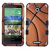 Mybat HTC 510(Desire 510) basketball-sports Collection/Noir Tuff hybride téléphone Coque de protection–Emballage