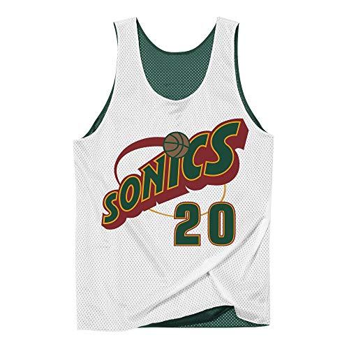 Mitchell & Ness Seattle Supersonics Gary Payton Reversible Mesh Jersey - NBA Jersey (L) -