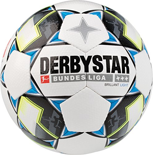 Derbystar Bundesliga Brillant Light, 5, weiß schwarz blau, 1851500126