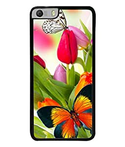PrintVisa Designer Back Case Cover for Micromax Canvas Knight 2 E471 (Girly Fancy Meaningful Picture of butterfly)